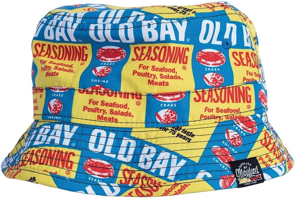 Unisex Adult Old Bay Seafood Seasoning All Over Print Bucket Hat