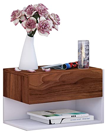 büro organisationssystem für wandmontage vcm wand nachttisch nachtschrank beistelltisch tisch nacht kommode konsole holz weiß 30x46x30 cm quotdormalquot