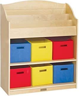 Guidecraft Book U0026 Bin Storage Set