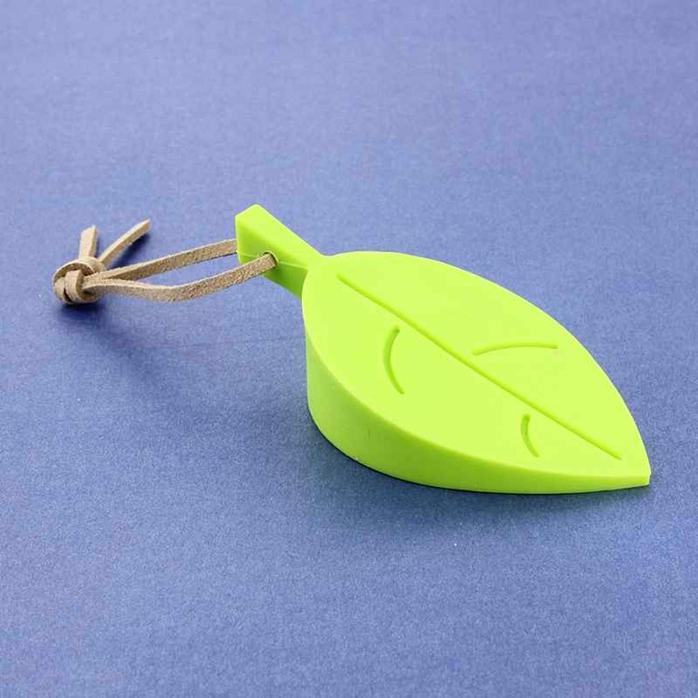 TraveT Durable Creative Silicone Leaf Shape Home Office Door Stop Stoppers Block Wedge Doorstops