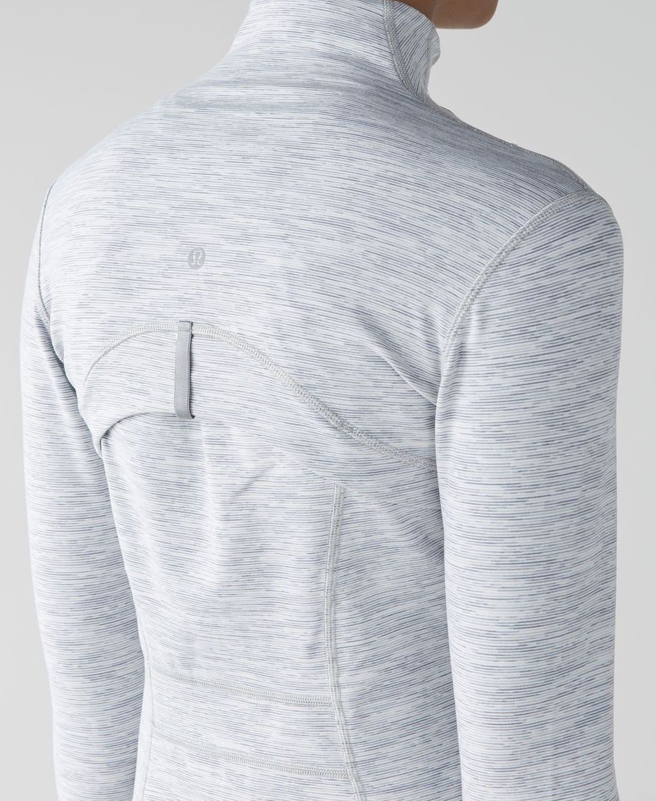 Lululemon Define Jacket (4, Wee Are From Space Ice Grey Alpine White) by Lululemon (Image #4)