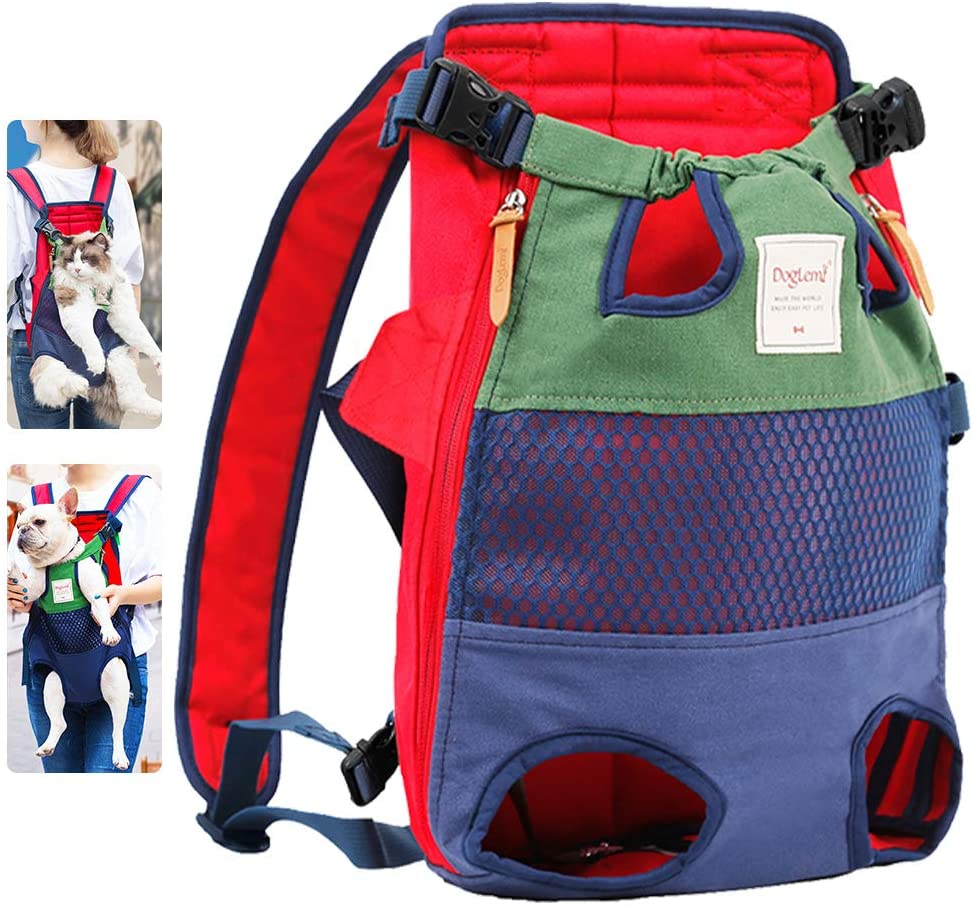 Mochila transportín para mascotas acolchada y ajustable por sólo 9,99€ con el #código: P7F339ZB