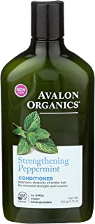 product image for Avalon Organics Conditioner Strengthening Peppermint, 11 oz