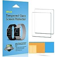JETech - Protector de Pantalla para Apple Watch 38mm Serie 1 2 3, Mica de Vidrio Templado, transparente, 2 Unidades