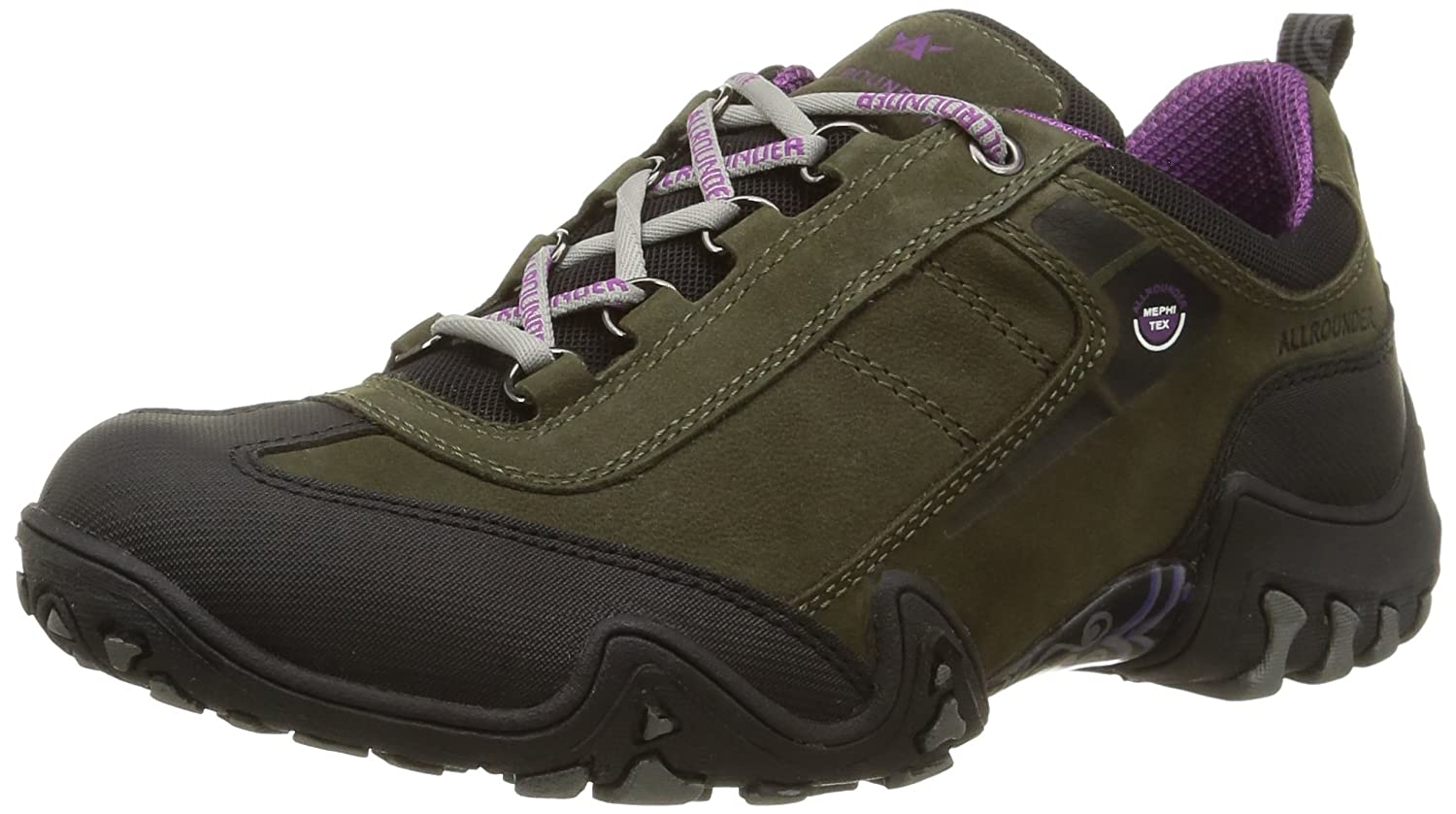 0624ddd1ca Mephisto Fina, Women's Low Rise Hiking Shoes: Amazon.co.uk: Shoes & Bags