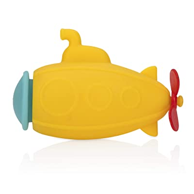 Nuby Submarine Bath Squirter Toys - 6M+, Yellow : Baby