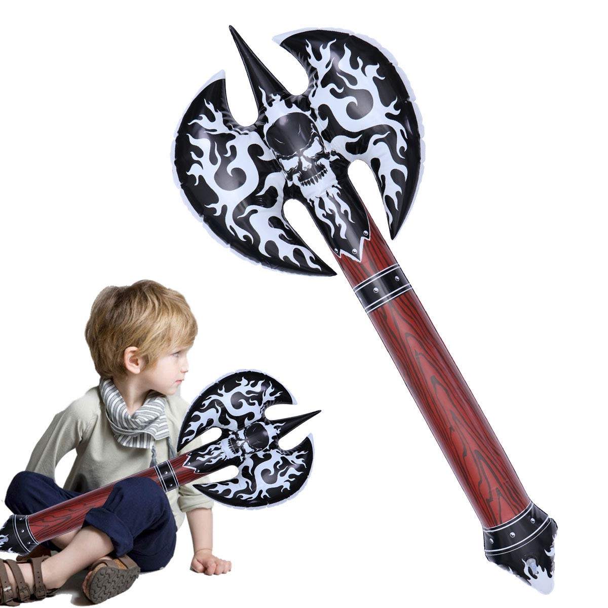 LUOEM Juguete Inflable Hacha Blow Up Air Filled Weapon Novedad ...