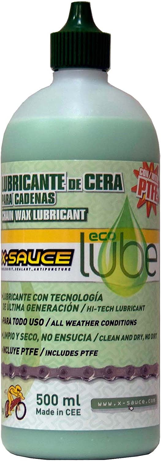 X-Sauce Wax Lubricant for Chains-Eco Lubicante Bikes, Men