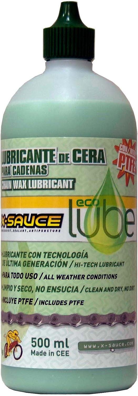 X-Sauce Lubricante de Cera para Cadenas-Eco Lube Lubicante ...