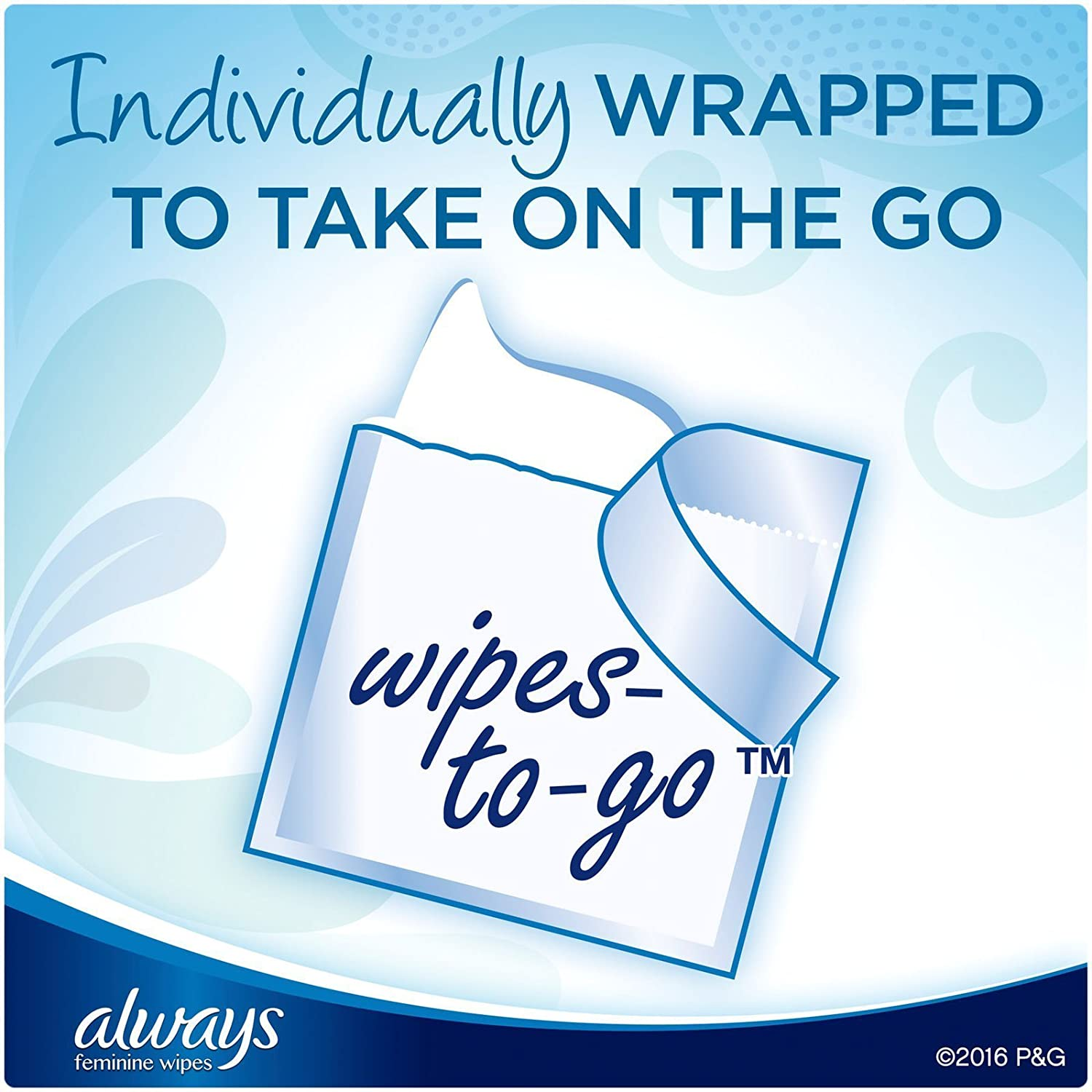 Amazon.com: Always Lightly Scented Wipes-to-Go - 20 ct: Health & Personal Care
