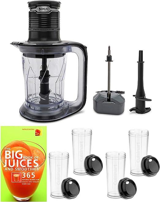 Ninja PS101 Ultra Prep - Procesador de alimentos y licuadora con ...