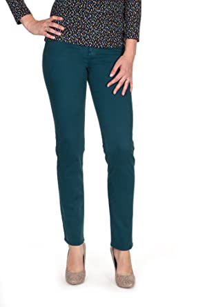 ba2bd7fff6e4 KANOPE Mandarine Curt-Pantalon Straight Femme  Amazon.fr  Vêtements et  accessoires