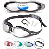 i SWIM PRO Swimming Goggles – No Leaking, Anti-Fog, UV Protection, Crystal Clear Vision with Protective Case - Comfortable Fit For Adults, Men, Women, Youth, Kids 10+