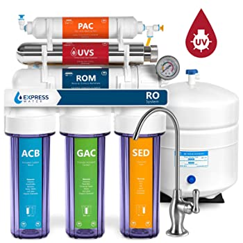 Express Water ROUV10DCG 6-stage RO Under Sink Water Filter