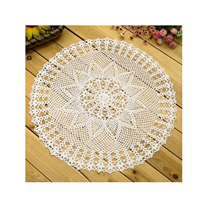 Amazon Aspire 24 Inches Pure Hand Crocheted Crochet Lace Knit