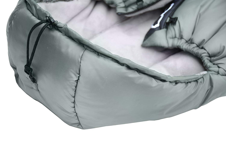 Saco de invierno dormir t/érmico para carrito silla de beb/é universal abrigo polar Cottonmoose Moose North NORTH MOOSE 873 BLACK