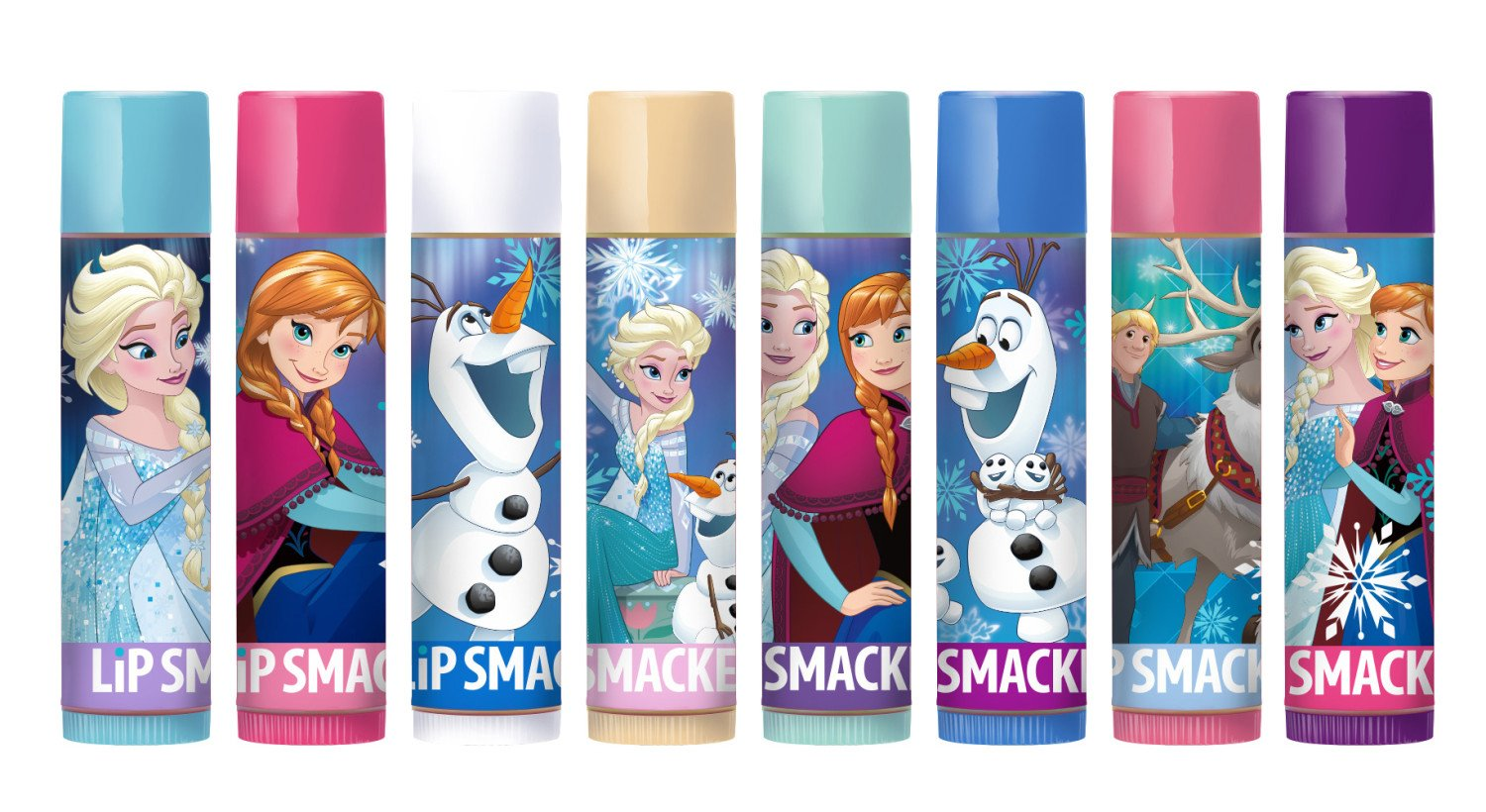 Lip Smacker 80128 Disney frozen lip balm party pack, 1.12 Ounce Markwins Beauty Products