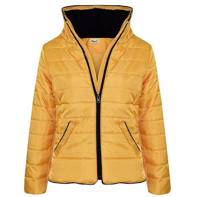c7a1c6790be9 Amazon.com  A2Z 4 Kids® Girls Jacket Kids Gold Padded Puffer Bubble ...