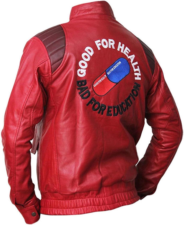 Mens Akira Kaneda Manga Capsule Faux Leather Jacket At Amazon Men S Clothing Store