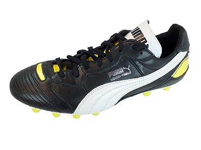 24cb81d23070 Puma Men s Football Boots Black  Amazon.co.uk  Shoes   Bags