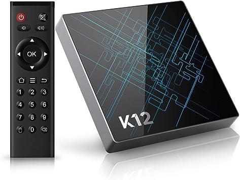 TICTID K12 Android TV Box / Android 6.0 OS / Amlogic S912 Qcta Core Arm Cortex-A53 CPU /