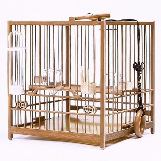 XWYGW Perrera Pequeña jaula de pájaros for la pequeña jaula de ...