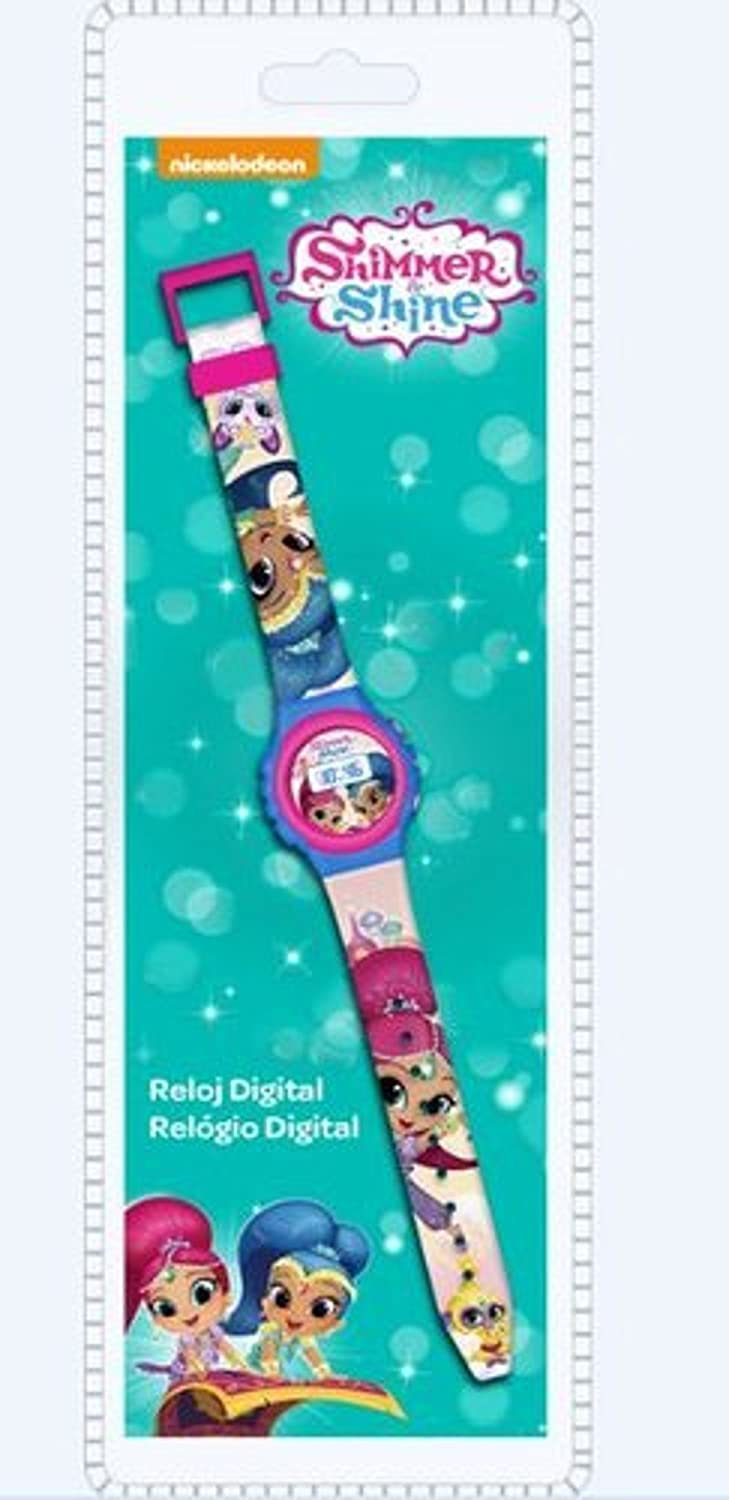 Shimmer & Shine- Shimmer&Shine Reloj Digital (Kids SH17021)