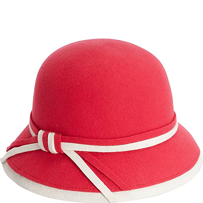 1930s Style Hats | 30s Ladies Hats Adora Hats Wool Felt Bucket Hat $40.99 AT vintagedancer.com