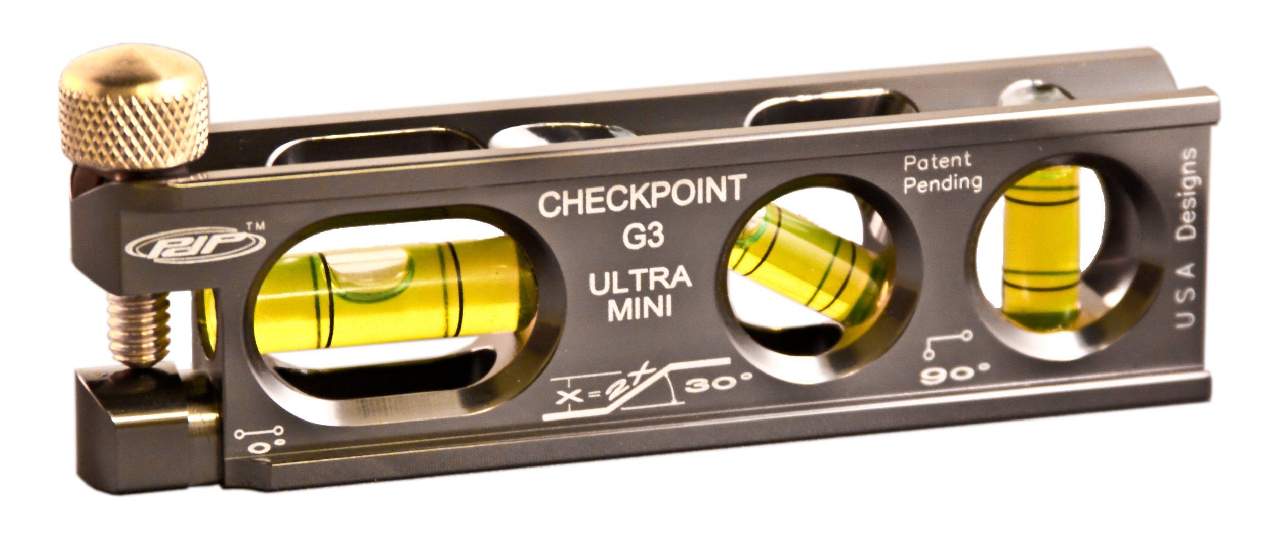 CHECKPOINT 0303PL Ultra-Mini G3 Torpedo Level, Platinum