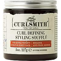 Curlsmith Curl Defining Styling Soufflé - Gel naturel pour cheveux ondulés, bouclés et bouclés (227g)