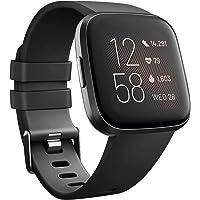 Tobfit Sport Bands Compatible with Fitbit Versa/Versa 2/Versa Lite/Versa SE, Soft TPU Wristbands Accessories for Women…