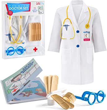 Amazon.com: Litti City Doctor Kit para niños – Accesorios ...