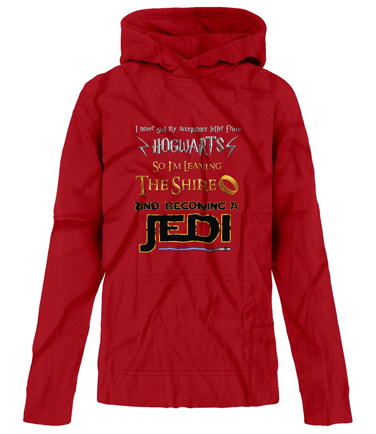 BSW Youth Girls Harry Potter Lord of The Rings Star Wars Jedi Fan Hoodie