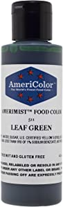 AmeriColor AmeriMist Leaf Green Airbrush Food Color, 4.5 oz