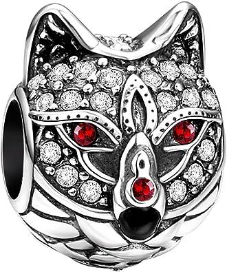 Soufeel 925 Argent Dieu Solaire Charm Compatibles Europ/éen Bracelet pour Charm Colliers Bracelet