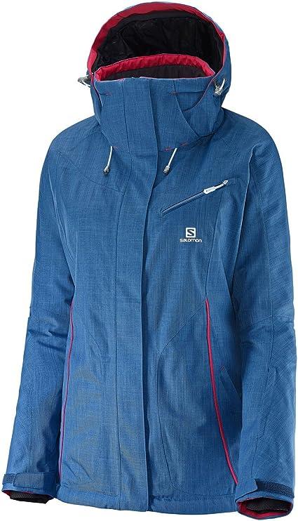 Salomon SALOMON Veste Ski Femme FANTASY JACKET W Bleu