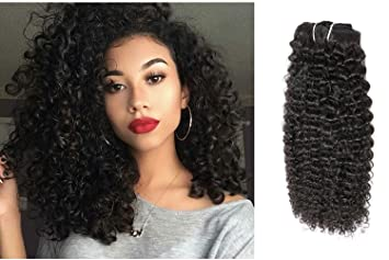 Ubetta 7 Pieces 120g Afro Curly Hair Clip Ins For African Hair Extensions  American Women Natural Black Hair...