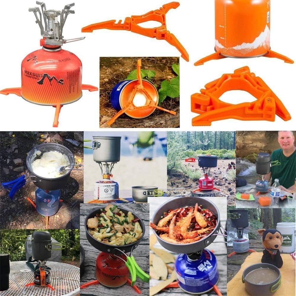 US Blue Robot 2 Piezas/Juego de Utensilios de Cocina portátiles para Camping al Aire Libre Tienda de campaña para Picnic Equipo de Cocina Olla HH: Amazon.es: Deportes y aire libre