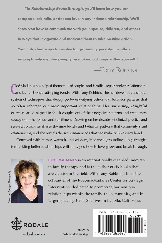 Relationship Breakthrough: Cloe Madanes, Anthony Robbins ...