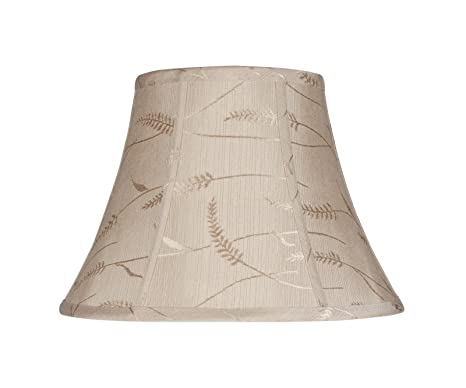 6870685a3112 Image Unavailable. Image not available for. Color: Aspen Creative 30092 Transitional  Bell Shape Spider Construction Lamp Shade ...