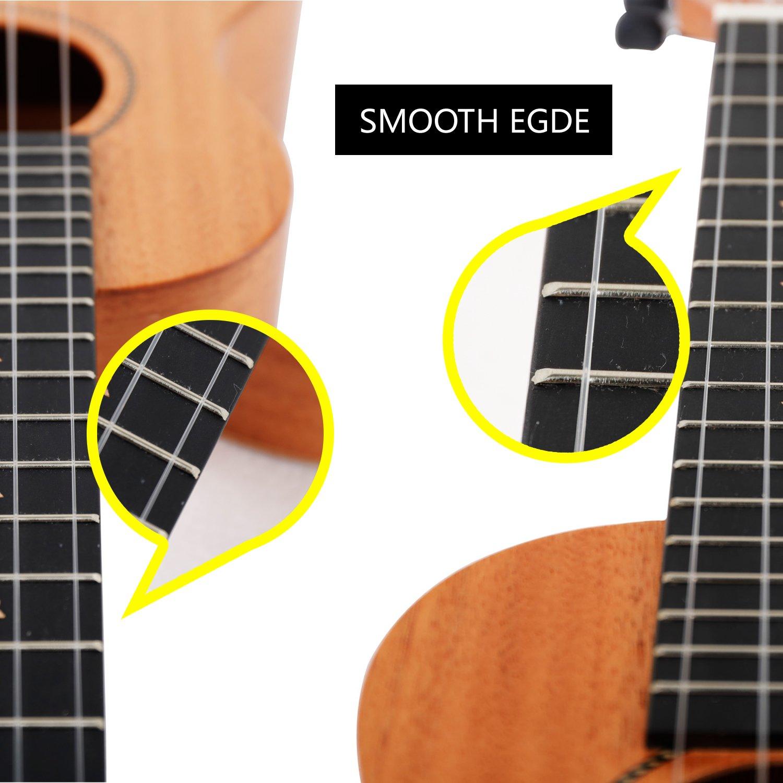 hankey koa concert ukulele bundle with bag and tuner strap extra