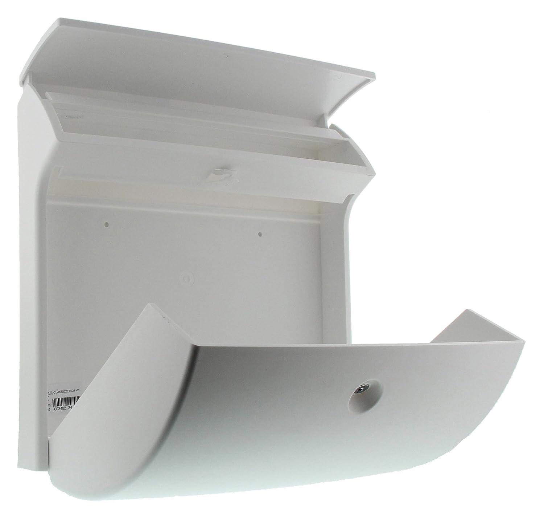 71YZ7whbyyL._SL1500_ Erstaunlich Briefkasten Weiß Mit Zeitungsrolle Dekorationen
