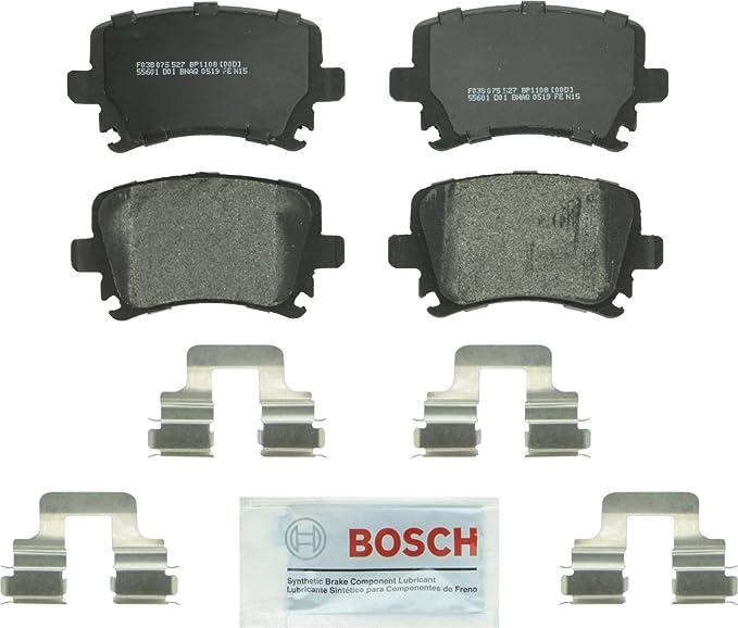 Front Brake Pads Bosch QuietCast 4B0698151S For Volkswagen Passat Audi A6 S4 S6
