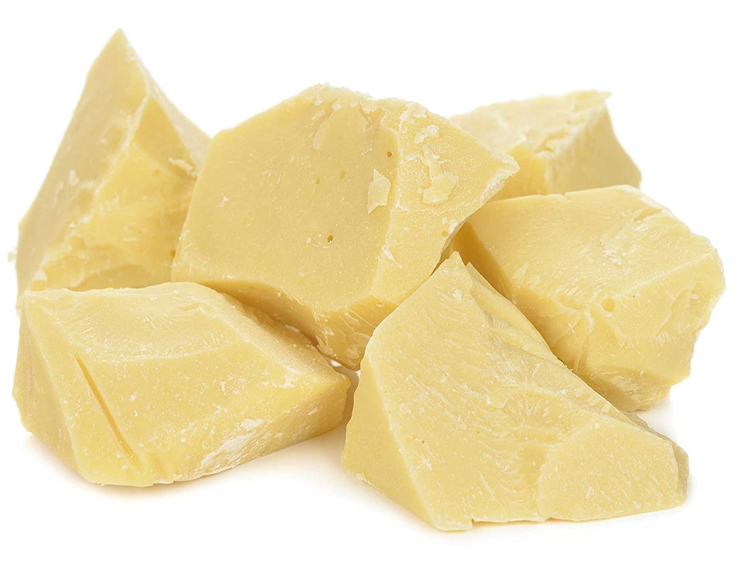 Raw Organic Cocoa Butter Chunks by Its Delish, 2 lbs (32 Oz) Bulk | 100% Natural Cocoa Butter for Soap and Chocolate Making