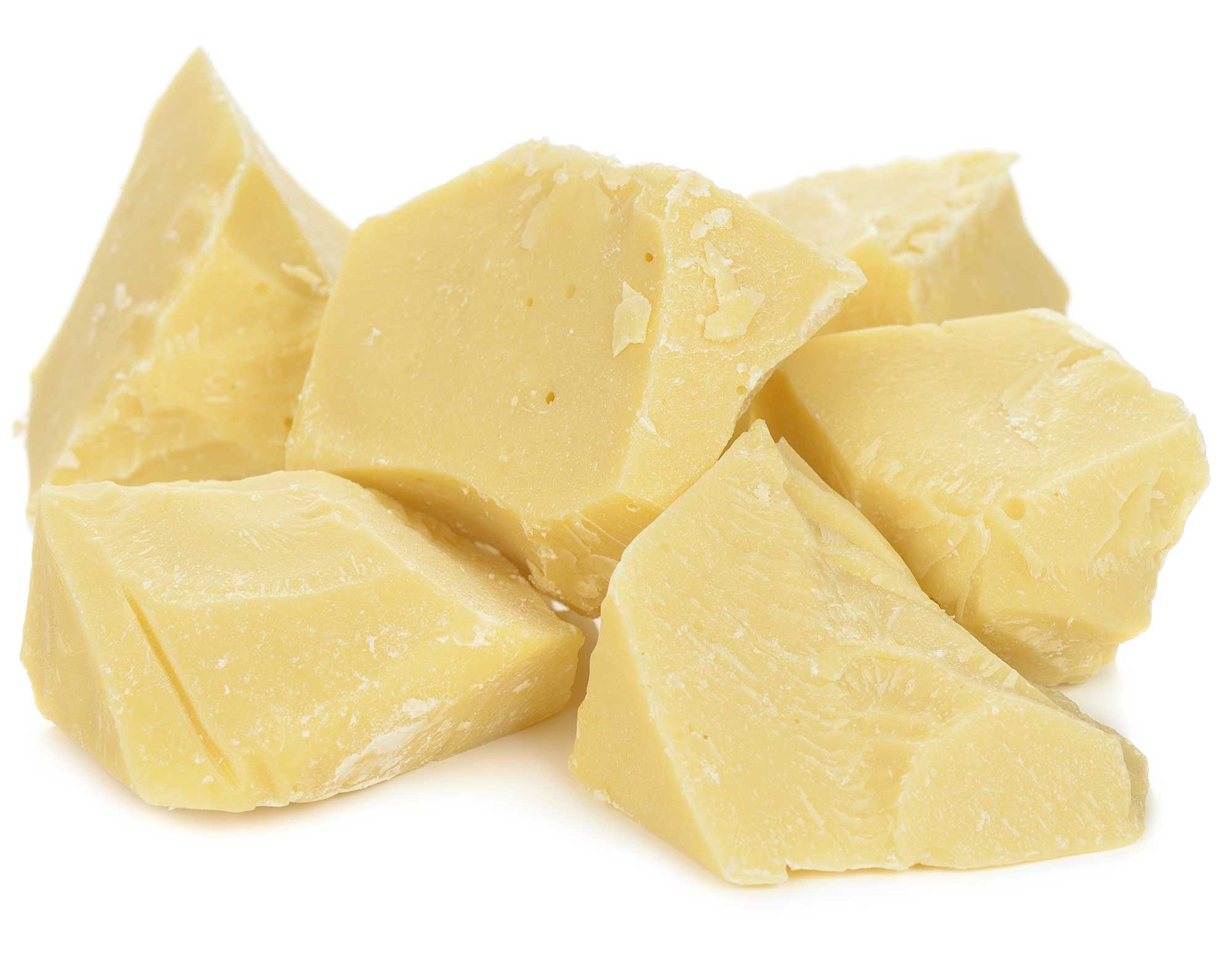 Raw 100% Pure Cocoa Butter Chunks by Its Delish, 2 lbs by It's Delish (Image #1)