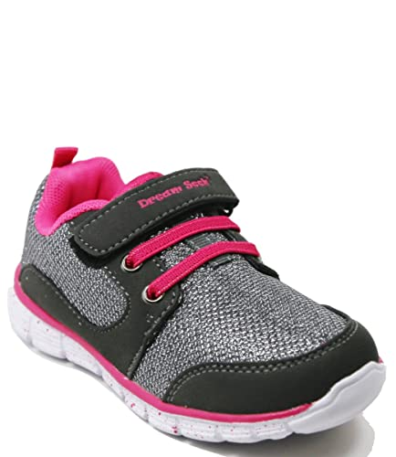 c1beaf08ae7 Walstar Girls Casual Easy On Light Weight Sneakers Play Running  Shoes(Toddler/Little Kid)