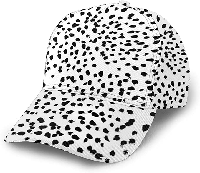 Nadia - Gorra de béisbol Ajustable con diseño de Puntos de dálmata ...
