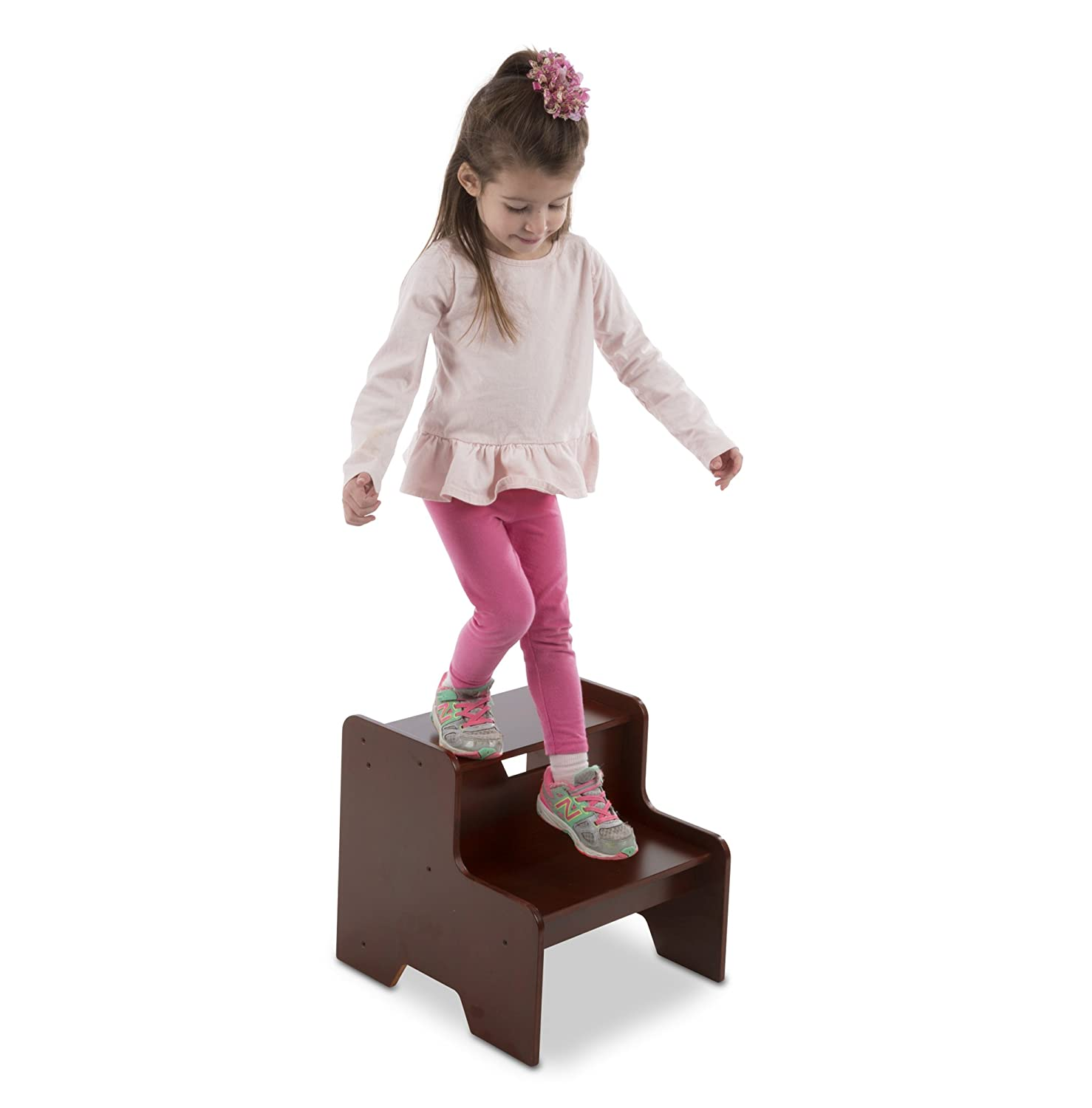 Melissa & Doug Step Stool - Espresso 30224