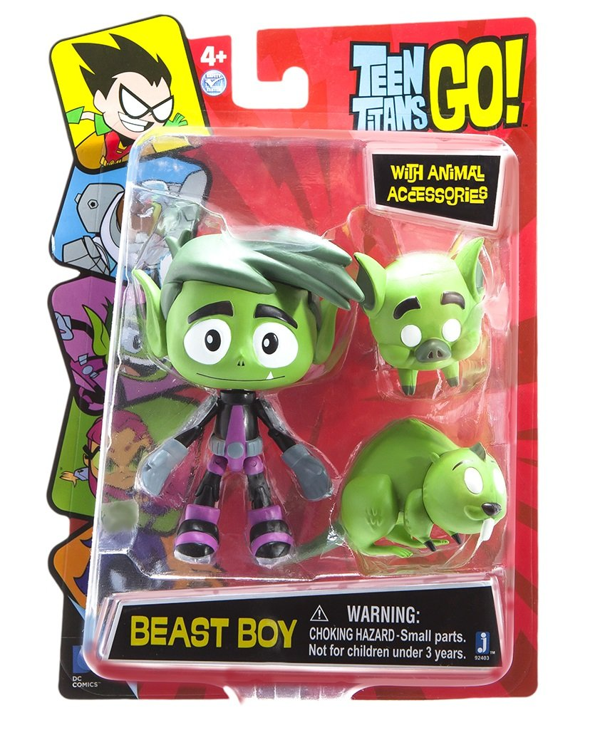 Teen Titans Go Figura De Accion Los Jovenes Titanes 92401