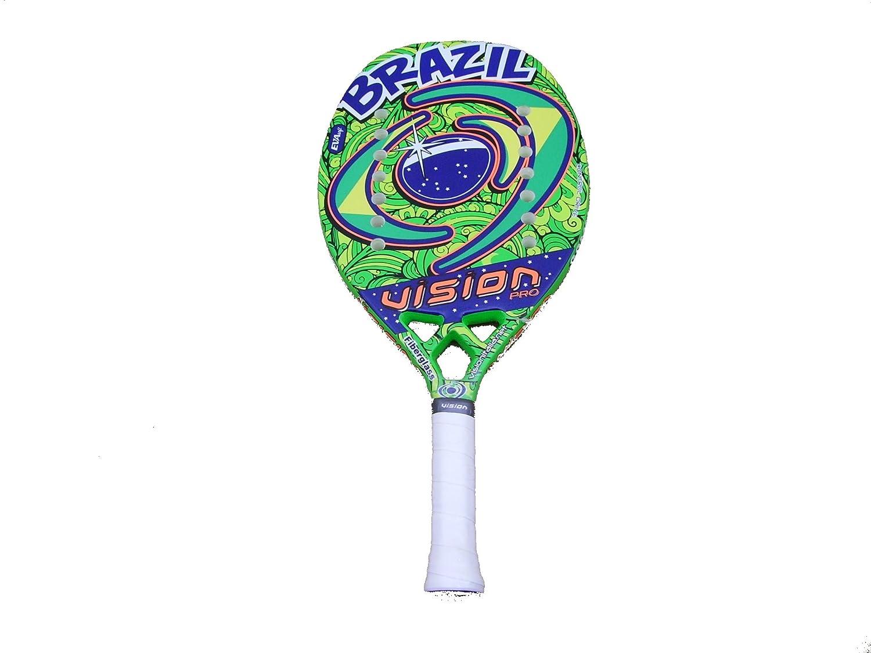 Raqueta Beach Tenis Vision Brazil 2017: Amazon.es: Deportes ...